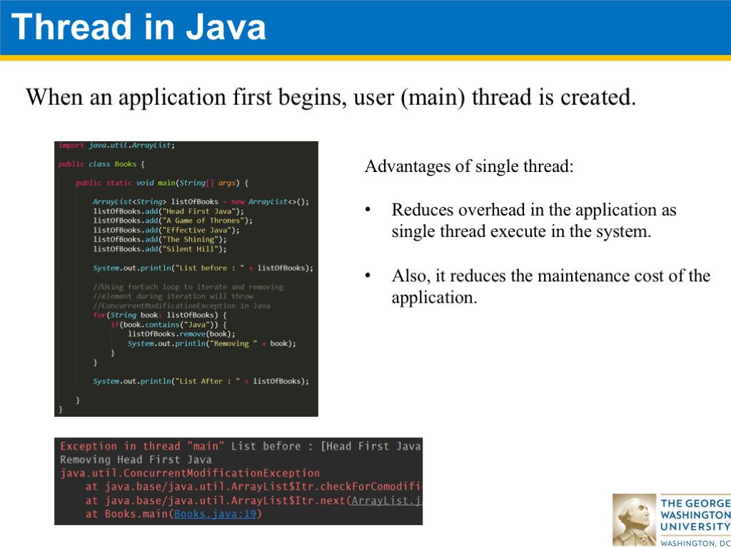Java 7: Multi-Threading | CS 2113 Software Engineering